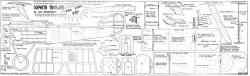 British Sopwith Triplane model airplane plan