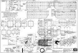 Spad 7 C1 model airplane plan