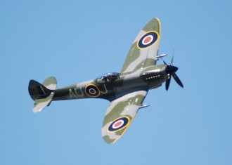Spitfire mk9 model airplane plan