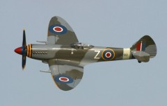 SPITFIRE IX MK 9 model airplane plan