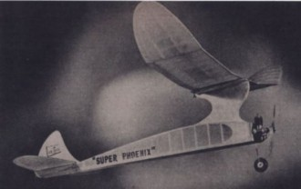 Super Phoenix model airplane plan