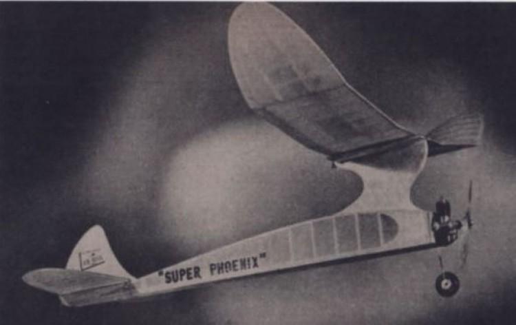 Super Phoenix model airplane plan