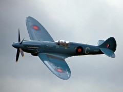 Supermarine Spitfire MK XIV model airplane plan