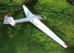 SZD-9 Bocian 1E model airplane plan