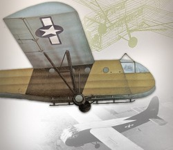 Troop Glider and Tug C-46 (Two plans in one.) model airplane plan