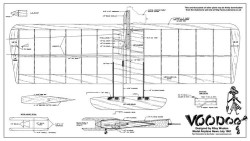 VooDoo model airplane plan