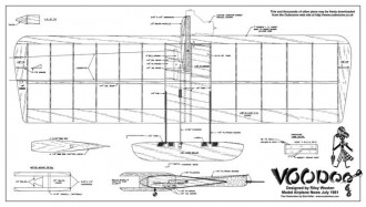 VooDoo model airplane plan