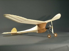 WESTERNER model airplane plan