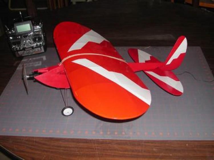 YARD BEE model airplane plan