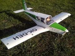 Zlín Z-43 model airplane plan