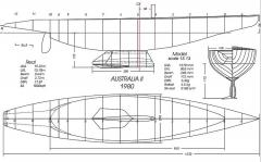 AUSTRALIA 2 model airplane plan