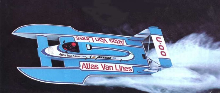 Atlas Van Lines model airplane plan