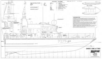 HMS BLAZER model airplane plan