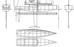 BLUE SPLASH model airplane plan