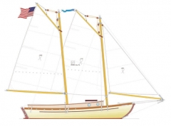 BOAT DICRETE model airplane plan