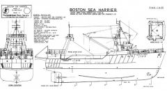 BOSTON SEA HARRIER model airplane plan