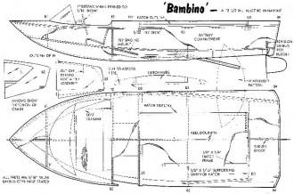 BAMBINO model airplane plan