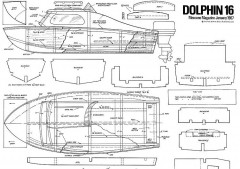 DOLPHIN 16 model airplane plan