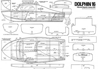 DOLPHIN 16 model airplane plan