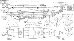 SHEARWATER model airplane plan