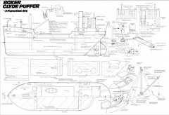 BOXER model airplane plan