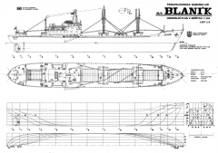M/S BLANIK model airplane plan