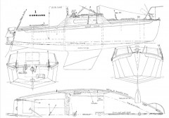 CORSAIRE JOG model airplane plan