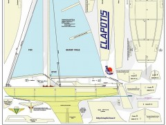 CLAPOTIS model airplane plan