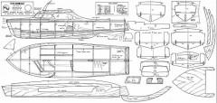 COLUMBINE model airplane plan