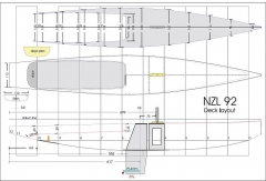 ETNZ model airplane plan