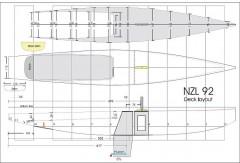 ETNZ model airplane plan