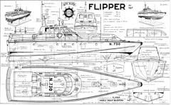 FLIPPER model airplane plan