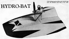 Hydro-Bat model airplane plan