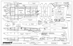 Hydromite model airplane plan