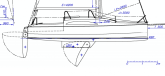 KAVALIER 800 model airplane plan