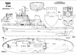KEENOMA model airplane plan