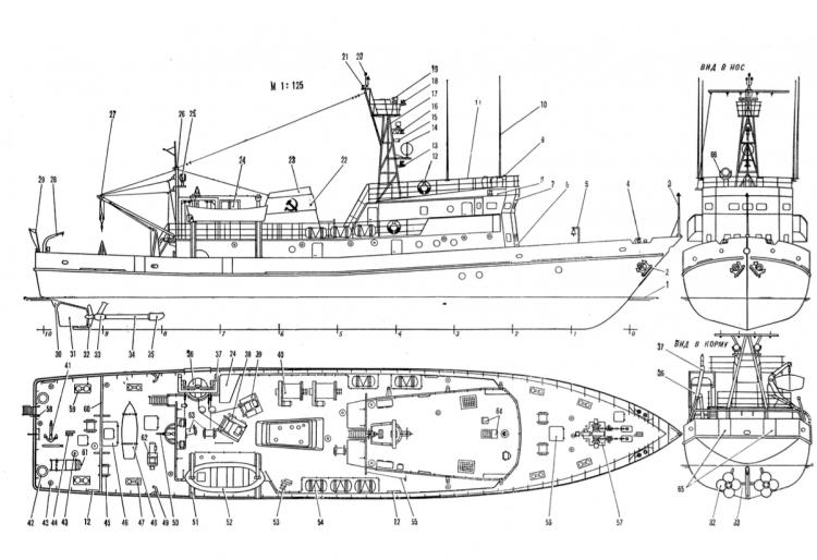 KRAB model airplane plan