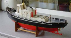 Tugboat Klimek model airplane plan