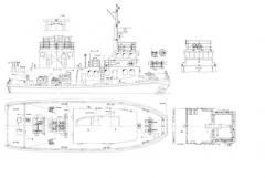 LE CAUX model airplane plan