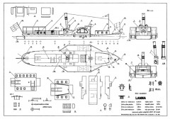 Lanna model airplane plan
