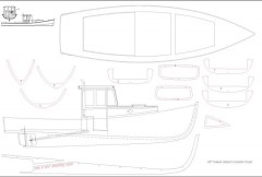 LOBSTER BOAT model airplane plan