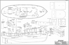 The Fireboat model airplane plan