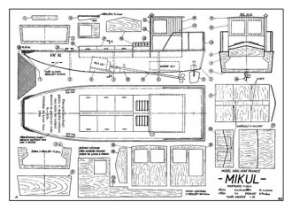Mikul model airplane plan
