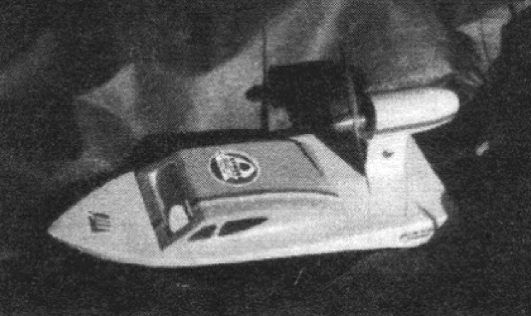 Mlok E model airplane plan