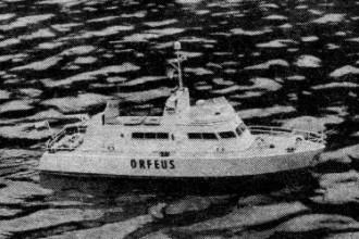 Orfeus model airplane plan