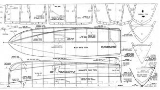 PICKET model airplane plan