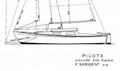 PILOTE model airplane plan