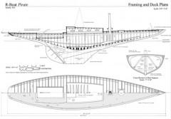 PIRATE model airplane plan