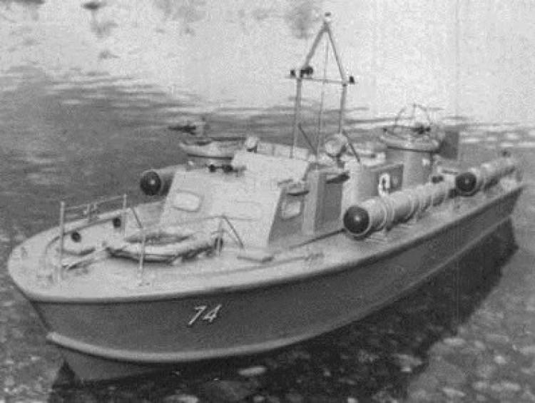 PT Boat model airplane plan