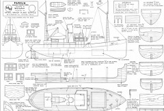 PAREJA model airplane plan